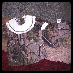 Other - Camo babygirls outfit